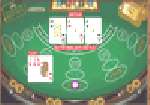 How to play 3 card poker table image