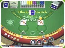 Online blackjack switch table image