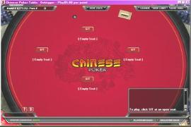 Online Chinese Poker table screen image