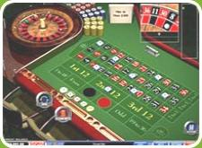 Online American or European roulette table image