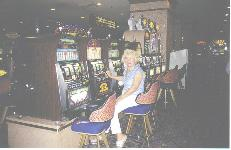 Casino slot area photo